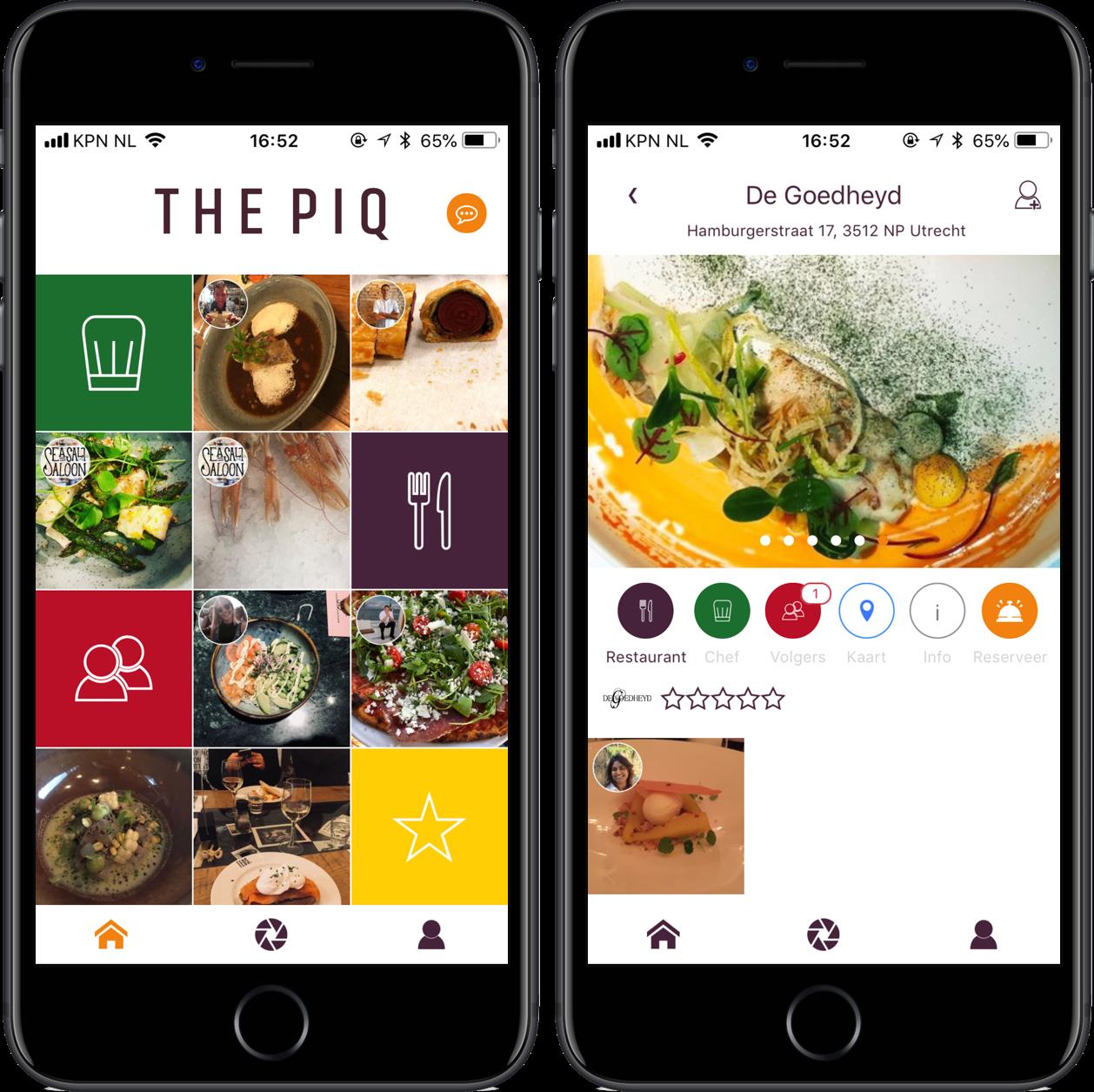 The PIQ-app