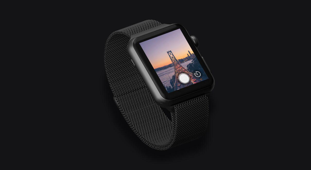 Halide op de Apple Watch.