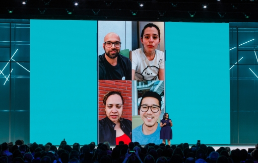 WhatsApp videobellen met een groep.