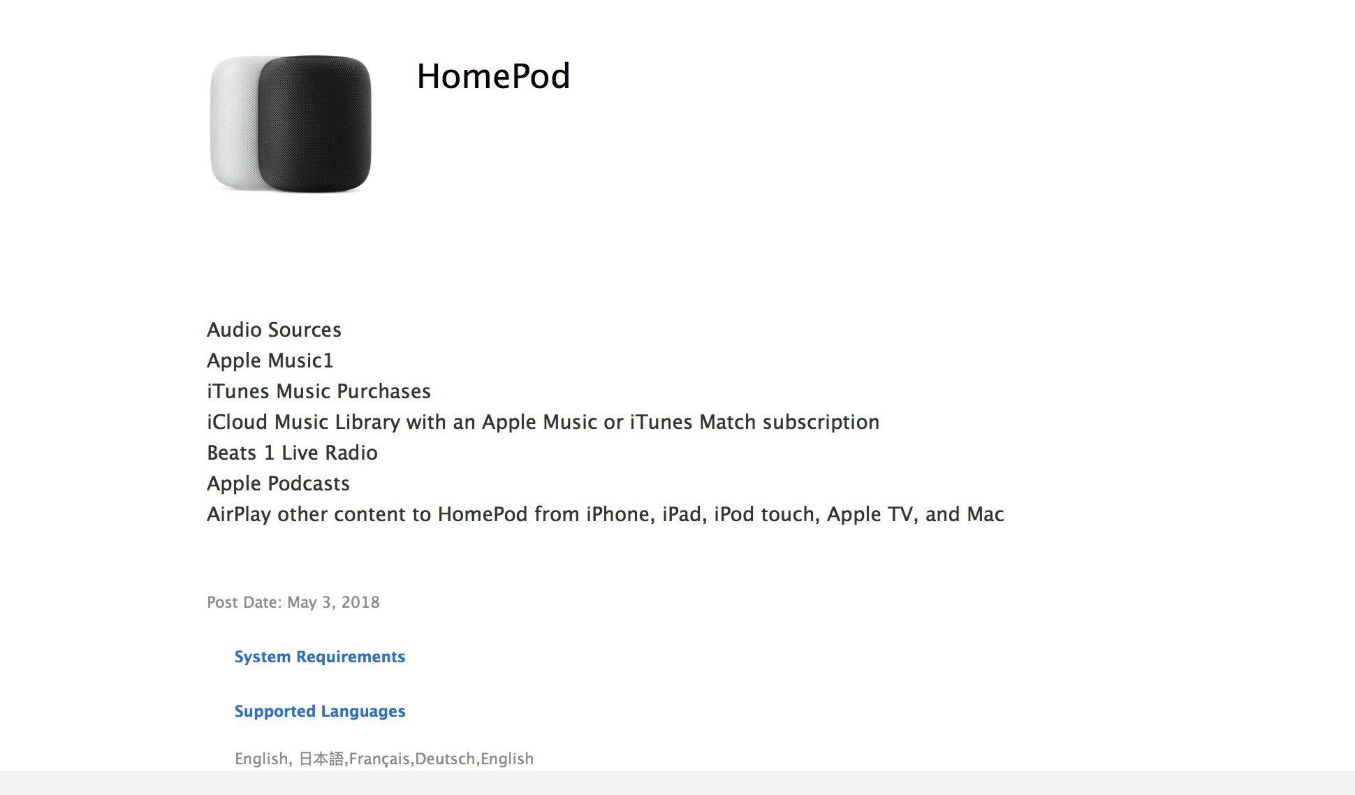 Apple hint naar HomePod in Frankrijk en Duitsland