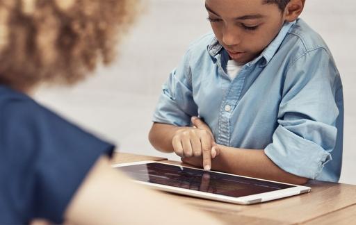 Apple Store iPad-workshop voor kinderen