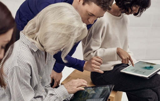 Apple Store workshop met iPads