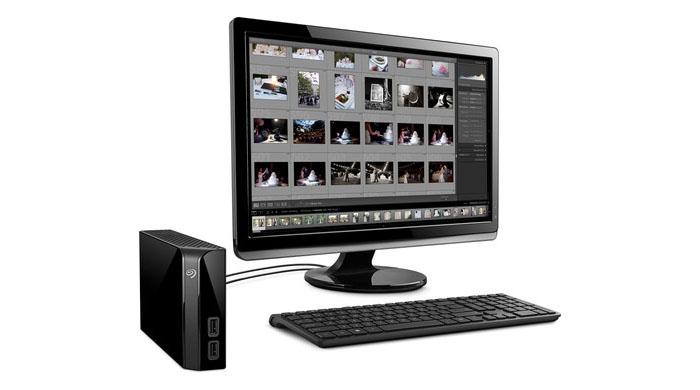Seagate backup foto's met harddisk
