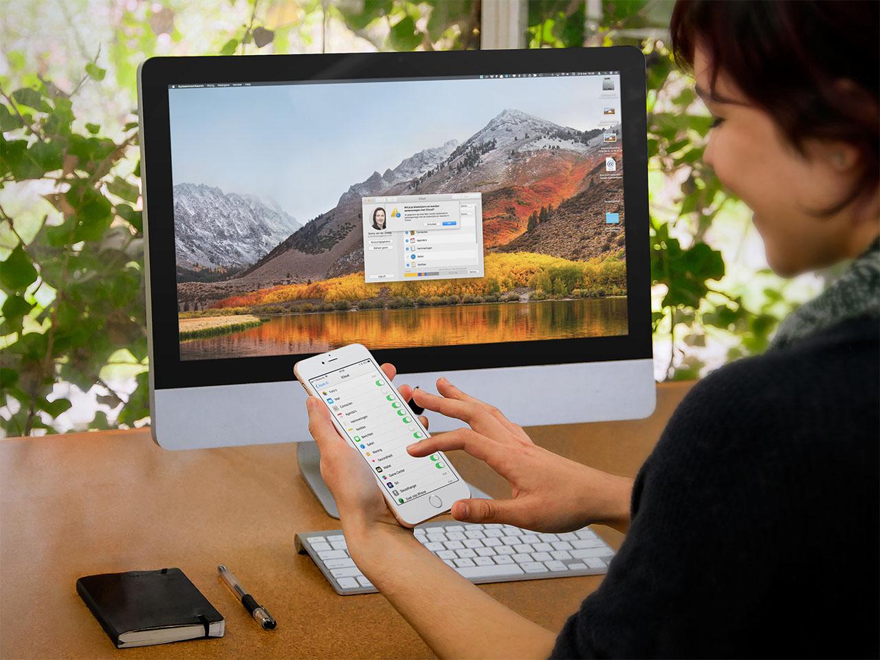 iCloud bladwijzers synchroniseren macOS en iOS