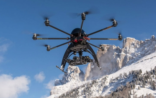 Deze Multirotor G4 Eagle V2 drone kost 35.000 dollar
