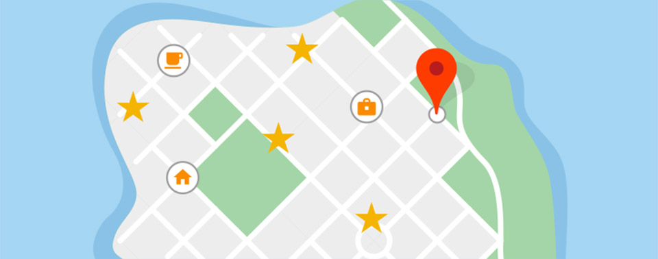 Google locaties volgen in Google Maps