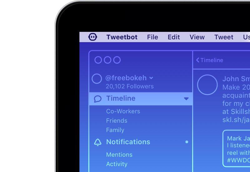 Tweetbot 3 voor Mac