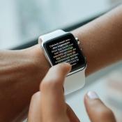 Melding van oudere app op Apple Watch.