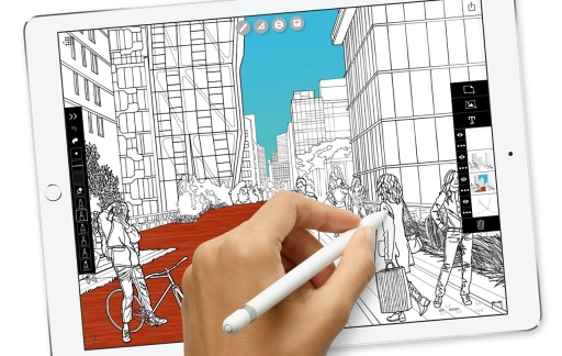 iPad Pro: tekenen