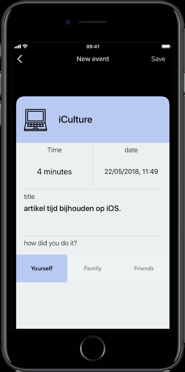 Tijd bijhouden met apps Lifecycle
