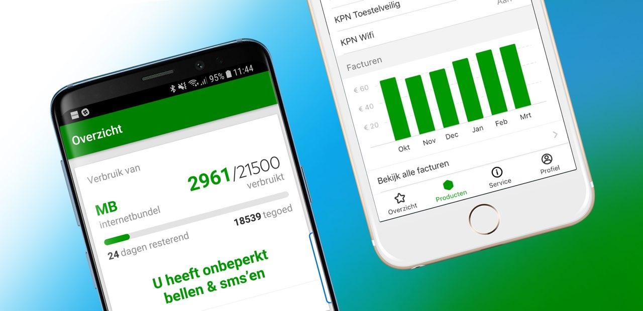 MijnKPN iPhone en Android