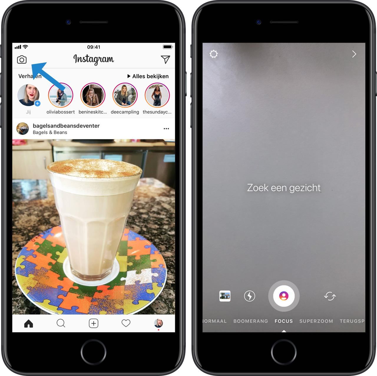 Dit is hoe je Instagram Focus gebruikt