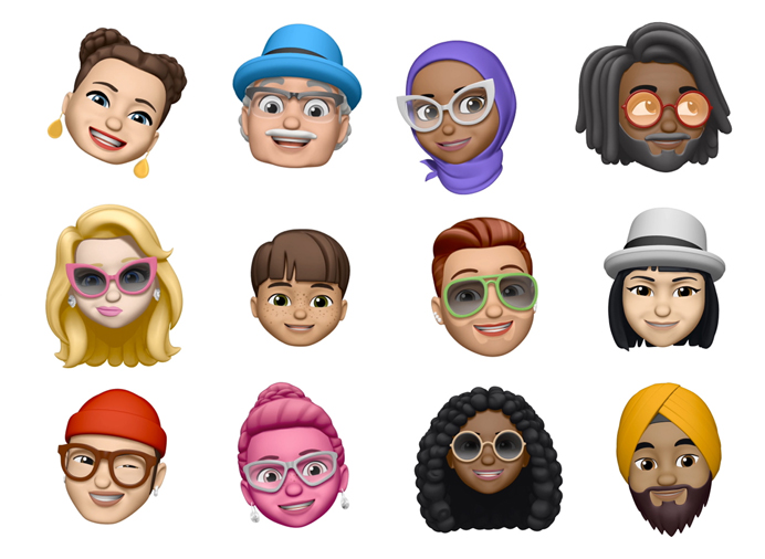 iOS 12 Apple Memoji