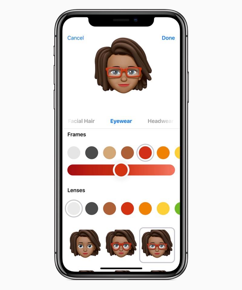 iOS 12 Memoji maken