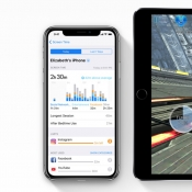Melding van Screentime in iOS 12.