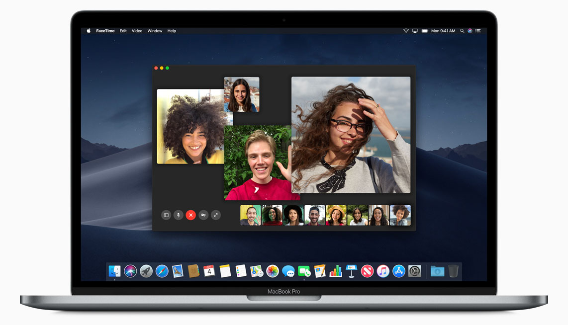 macOS Mojave FaceTime