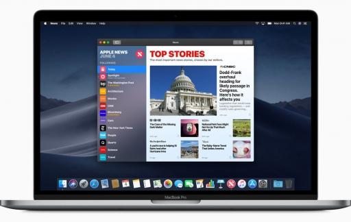 macOS Mojave met Apple News
