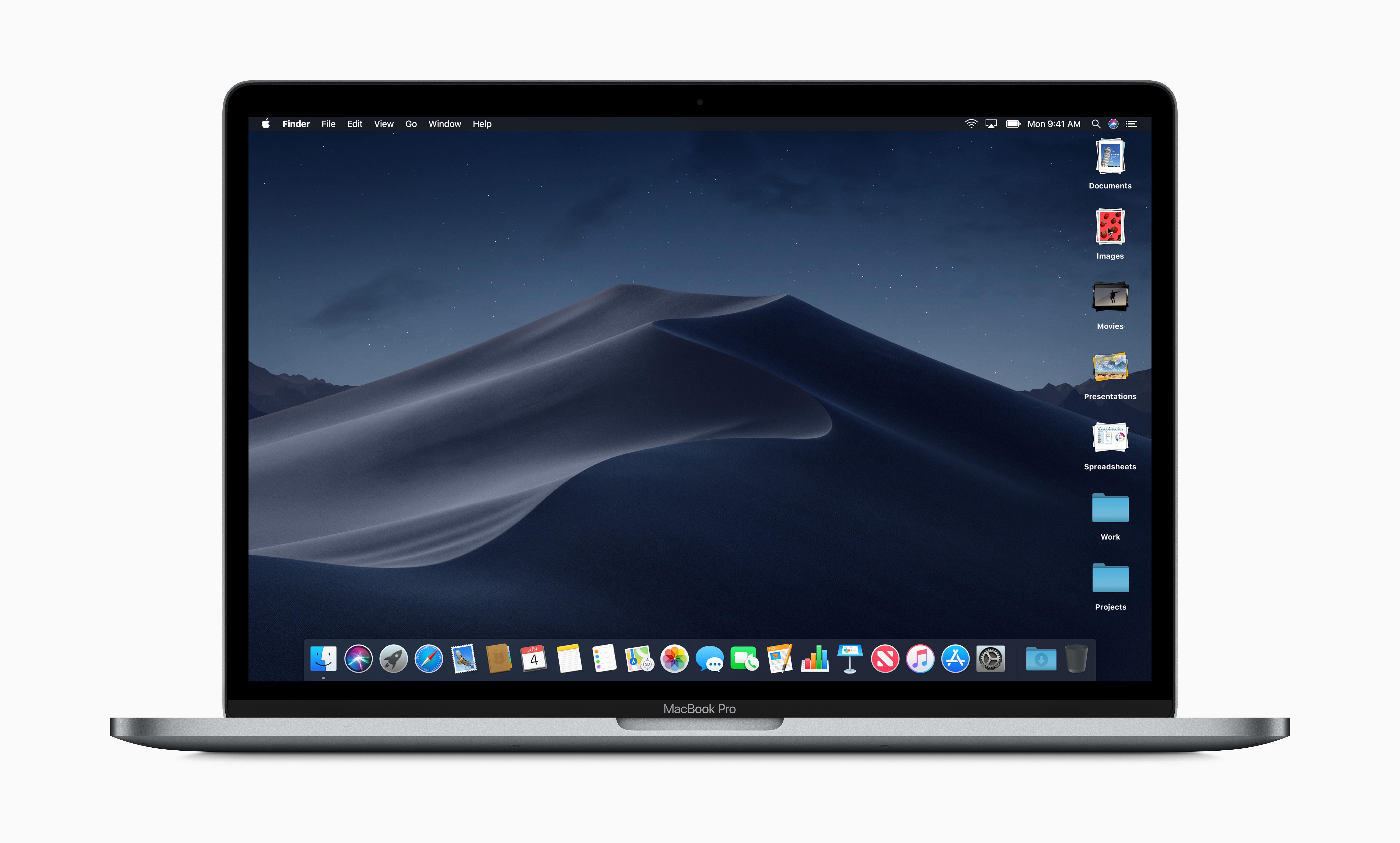 macOS Mojave Stapels in de Finder