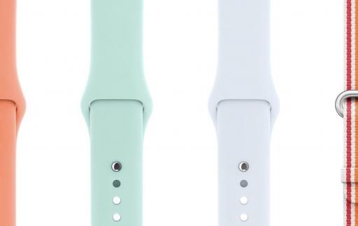 Apple Watch-bandjes met zomerkleuren 2018.