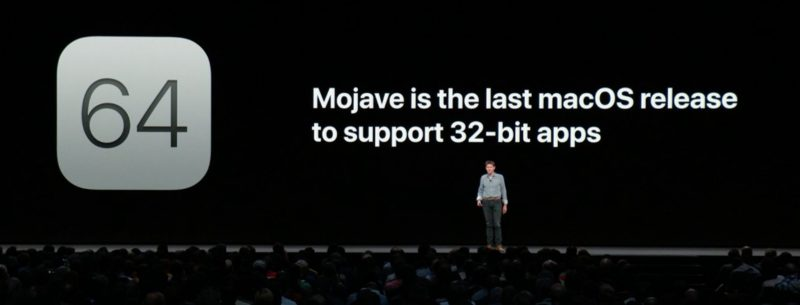 Mojave 32 bit apps