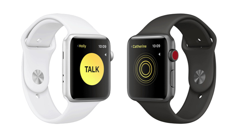 Apple Watch met Walkie Talkie