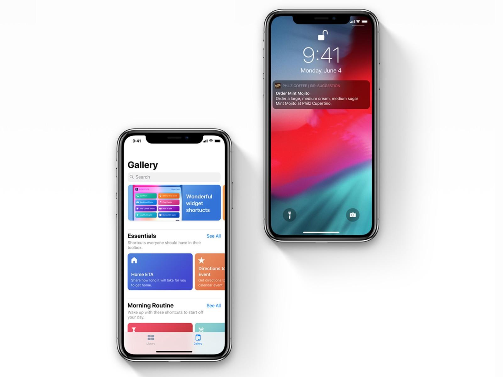 Siri suggesties en Siri Shortcuts