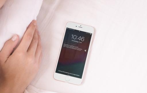 Niet Storen-slapen in iOS 12.
