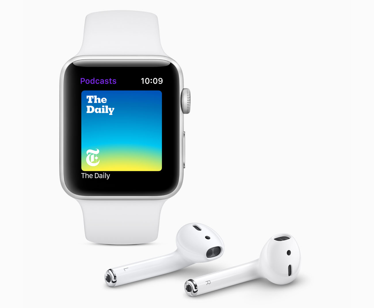 Podcast-app voor Apple Watch