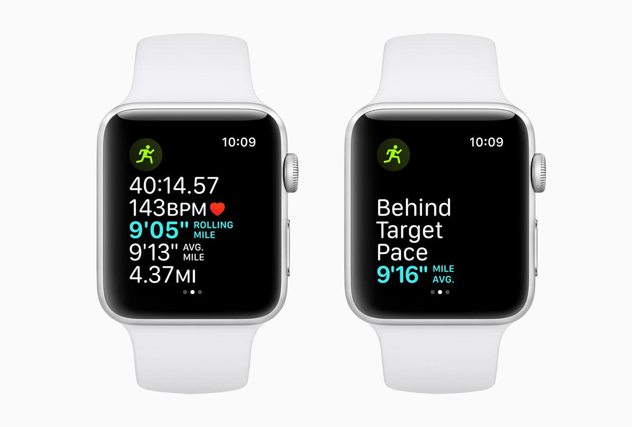 Apple Watch hardloopfuncties watchOS 5