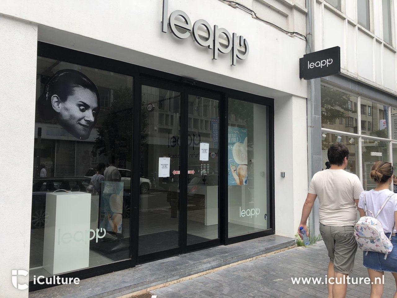 Leapp-winkels zijn gesloten (foto:iCulture)