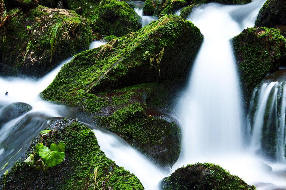 Waterval: foto met lange belichting