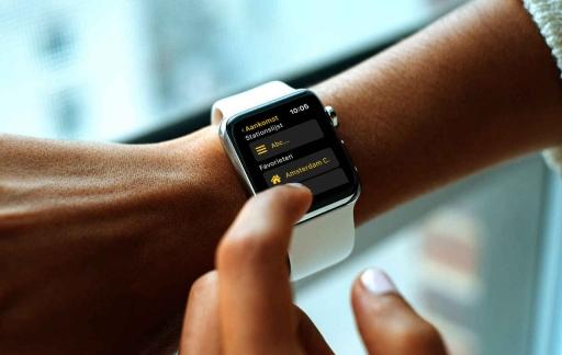 Treingids op de Apple Watch.