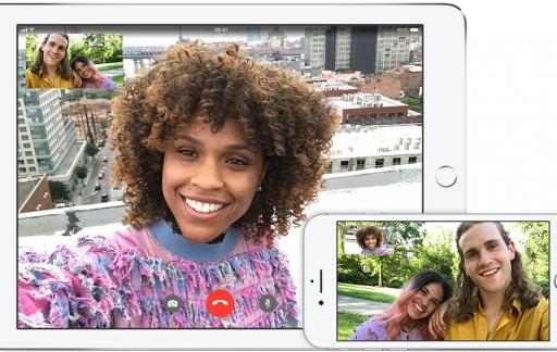 FaceTime op iPhone en IPad