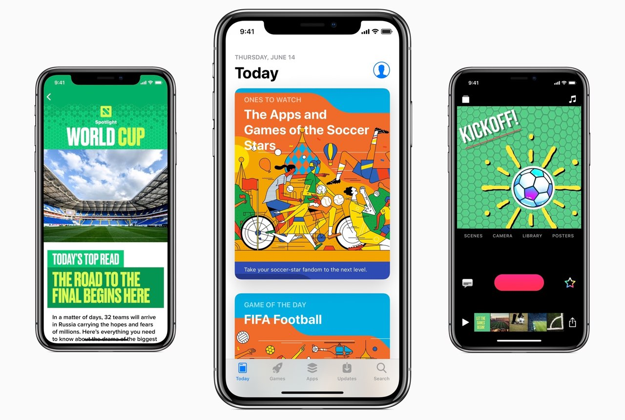 Apple Worldcup content