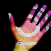Instagram hand