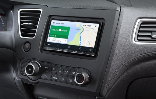 Android Auto met Google Maps