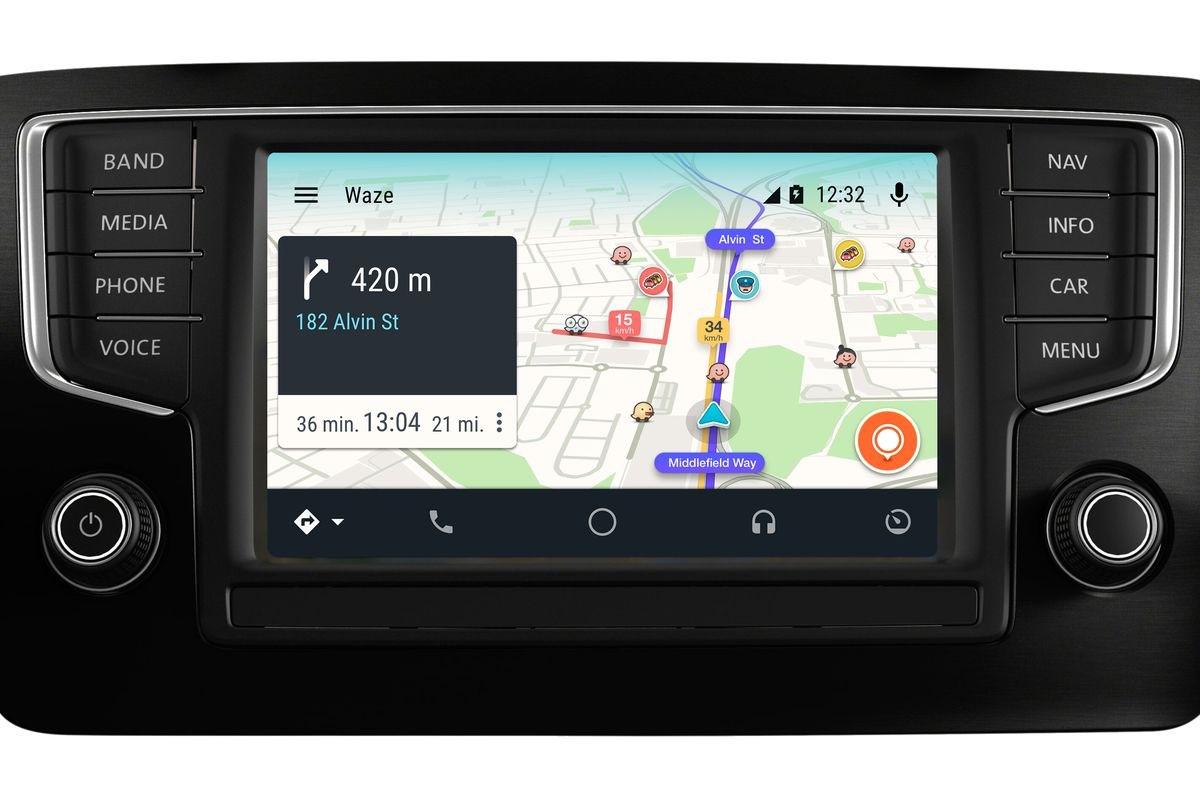 Android Auto met Waze