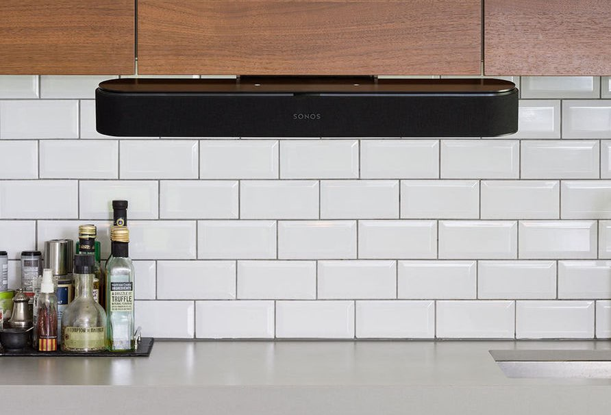 Sonos Beam in de keuken