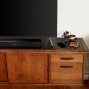 Sonos Beam op tv-kast