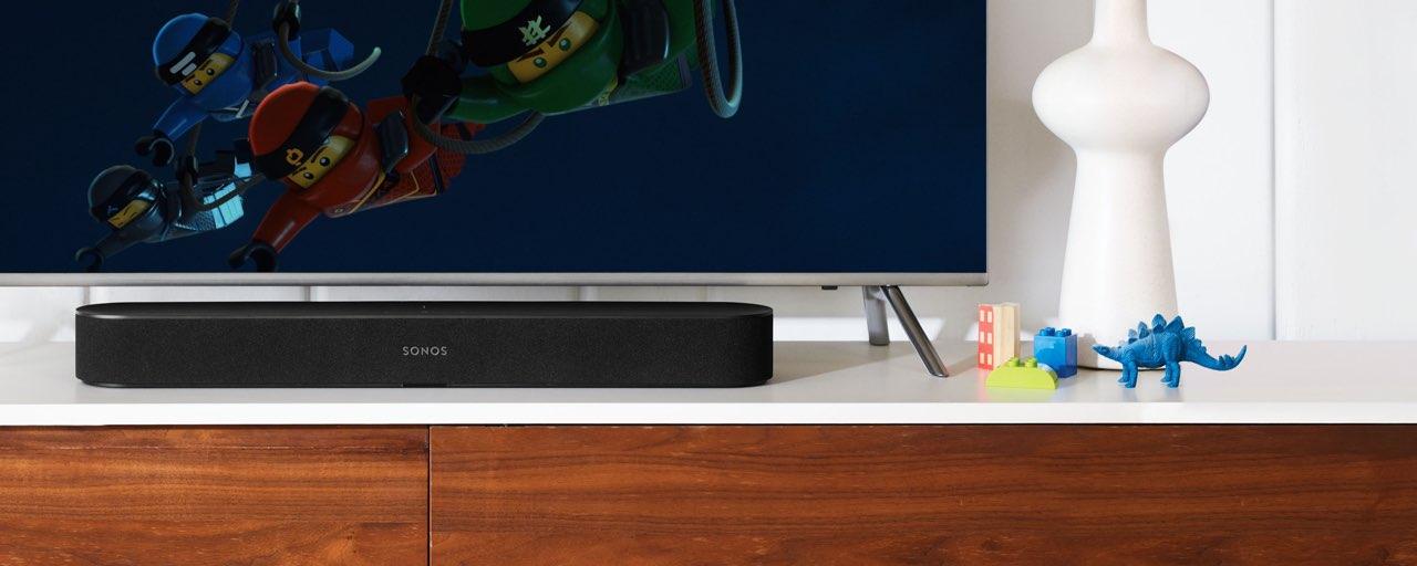 Sonos Beam onder de tv