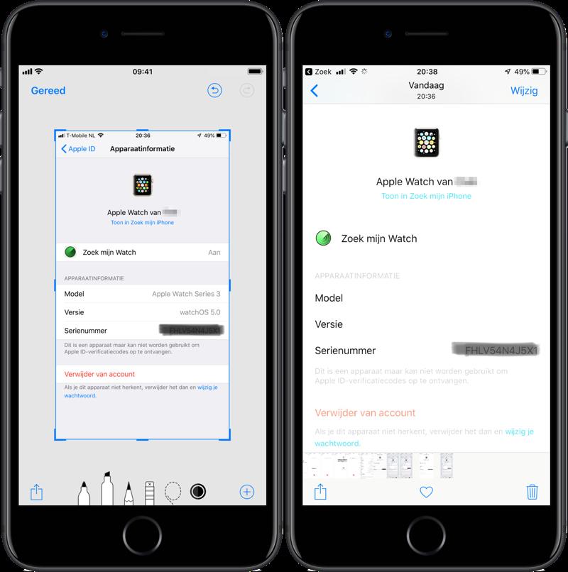Markeerstift iOS niet veilig