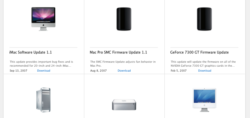 oude Mac-software vinden
