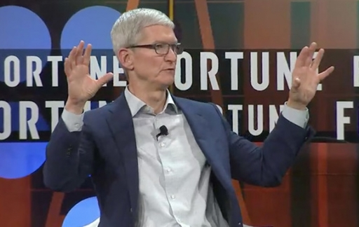 Tim Cook in Fortune-interview