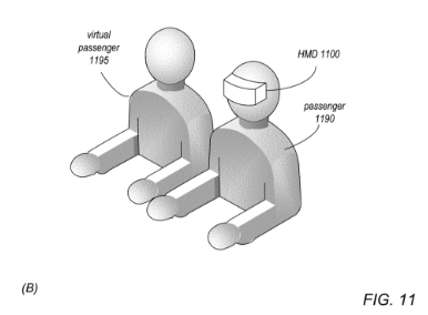 Patent van virtual passenger van Mark Rober.