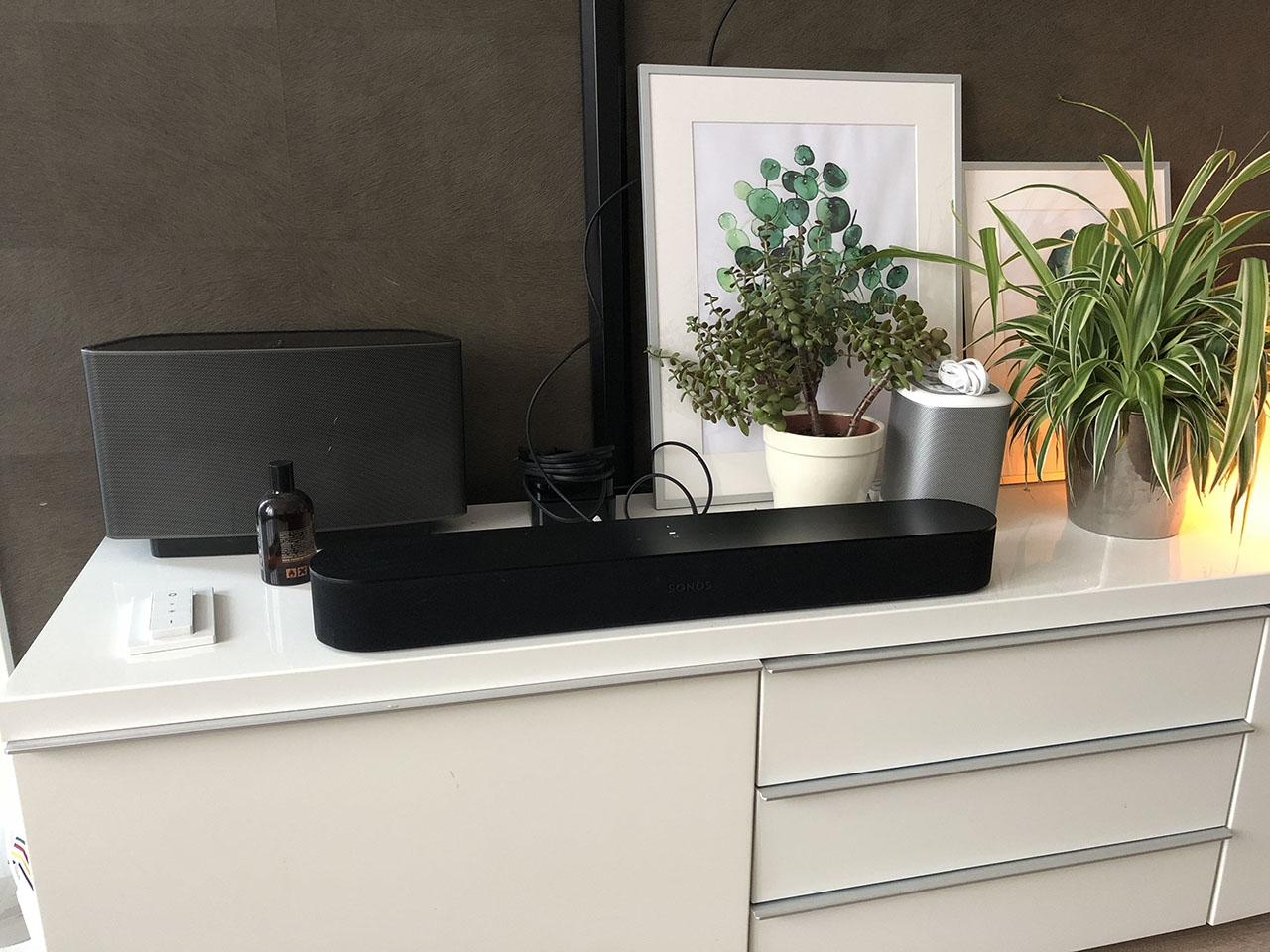 Sonos Beam in gebruik