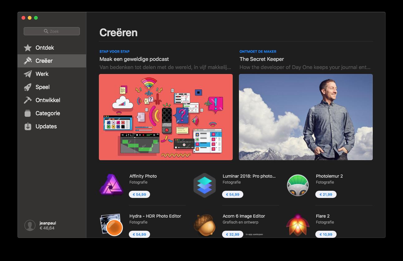 Mac App Store creëeren