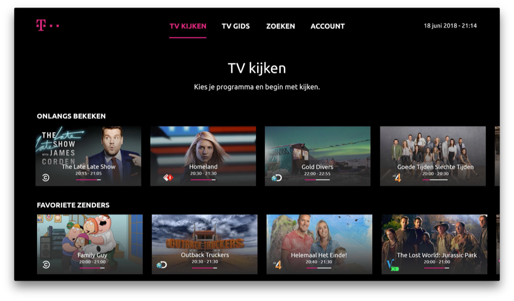TV-anywhere van T-Mobile.