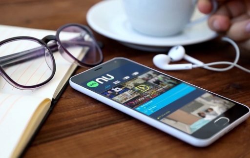 VRT NU-app.