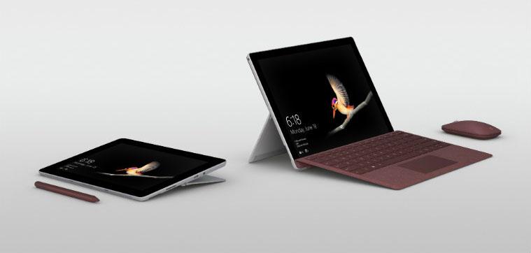 Microsoft Surface Go zijkant