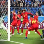 WK Voetbal Frankrijk-België